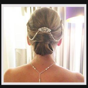 Bridal Hair Drapes - Swags