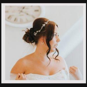 Bridal Hair Vines