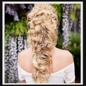 Bridal Hair Vines Extra Long