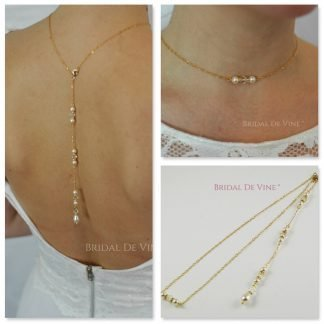 Backdrop Necklaces Choker Style